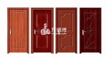 什么是钢木门?室内钢木门安装